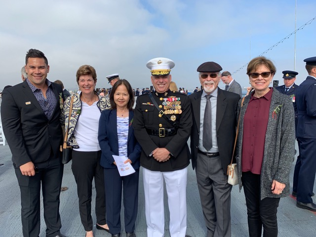 Clyde Ramm, Jan Gontang, Ryoko Denouras (Sandisca), US Mlitary personnel, Dr. Mike McQuary (Sandisca), Barbara Baron